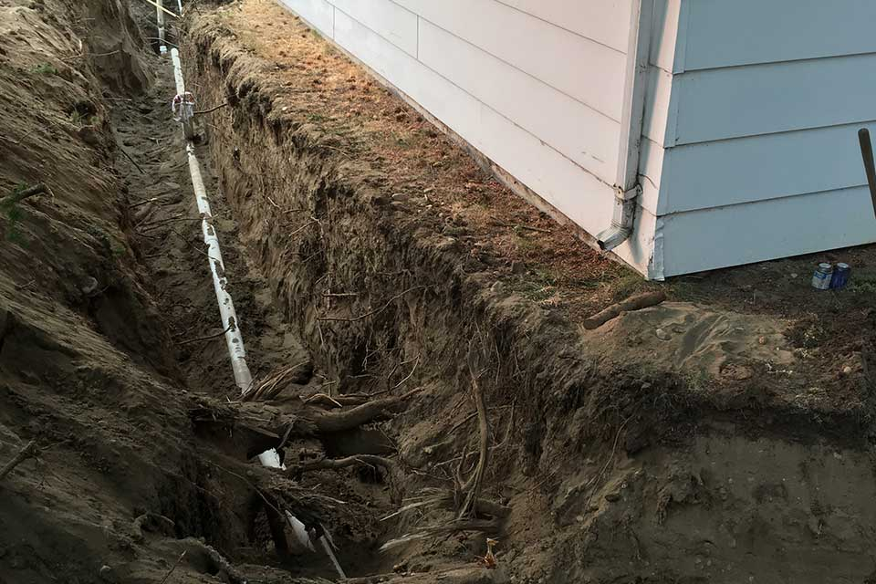 home drainage system