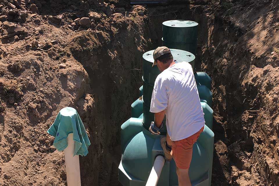 septic tanks installation